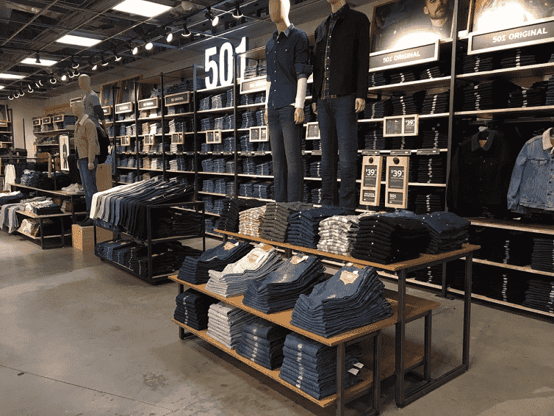 Loja Levis em Orlando: Tudo sobre a loja Levi's em Orlando e Miami