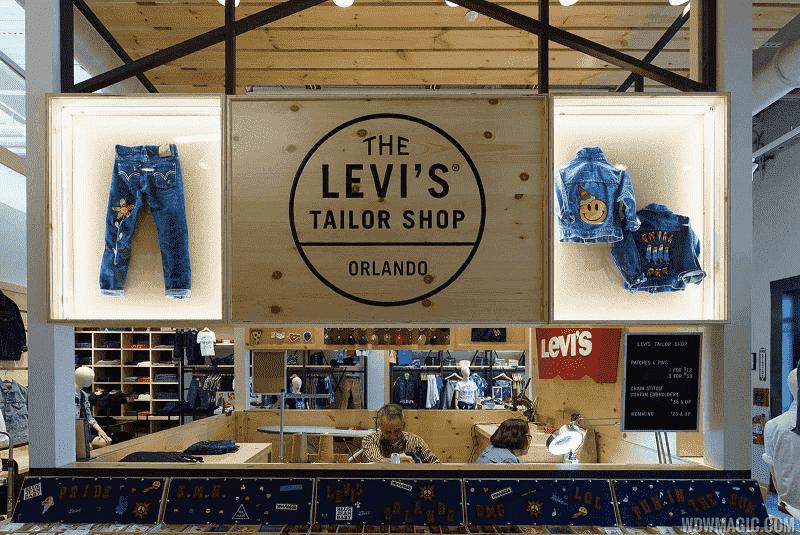Loja Levis em Orlando