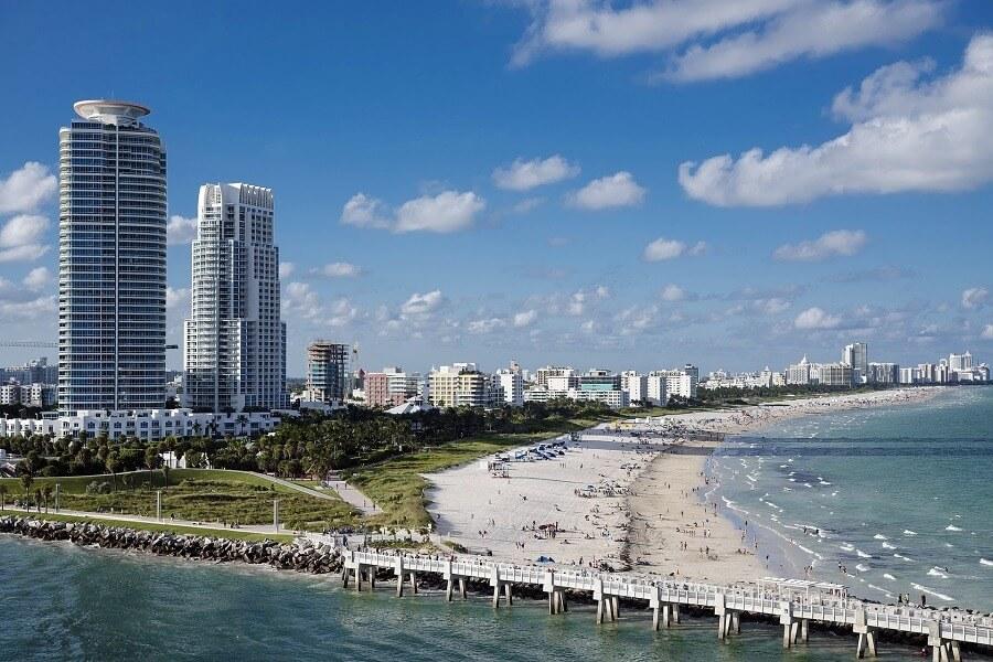 Visite a icônica Miami Beach
