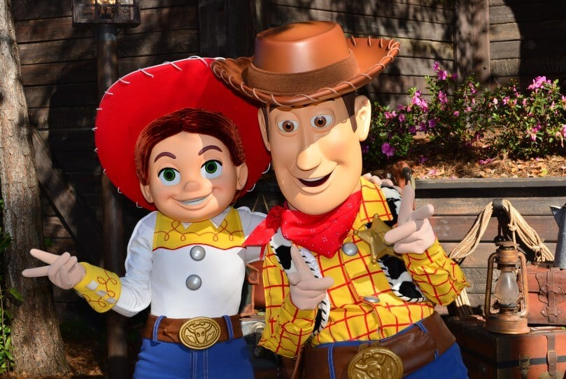 Personagens na Toy Story Land