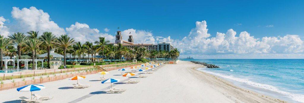 Curtir as praias de Palm Beach