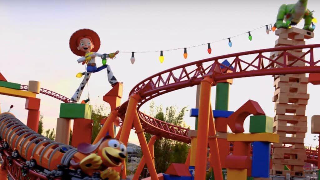 Nova área Toy Story Land na Disney em Orlando: Montanha-russa Slinky Dog Dash