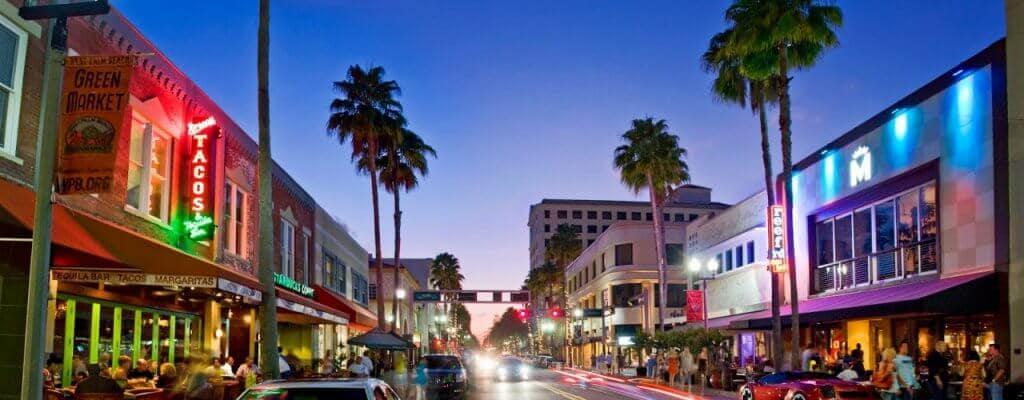 Noite em West Palm Beach