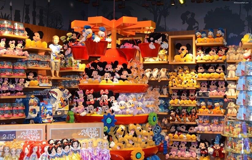 Lojas Disney Store em Orlando e Miami