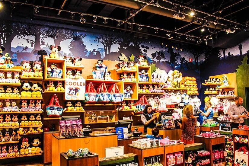 Endereços das Disney Store em Orlando e Miami