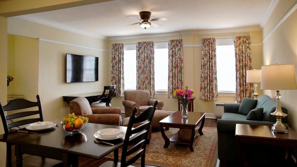 Dicas de hotéis em Palm Beach na Flórida: Quarto do The Bradley Park Hotel