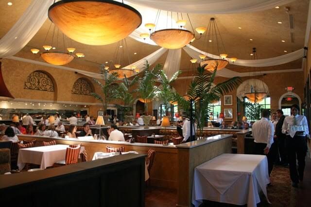 Restaurante italiano Brio em Miami