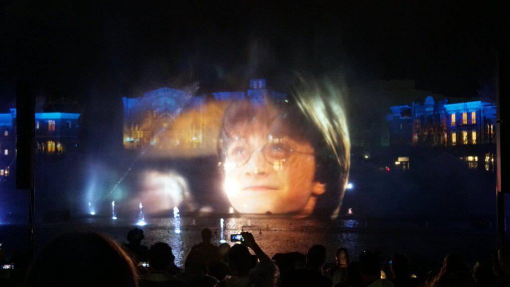Novo show noturno da Universal: Cinematic Celebration - Harry Potter