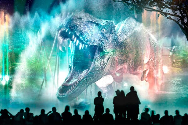 Novo show noturno da Universal: Cinematic Celebration: Cinematic Celebration - Jurassic World