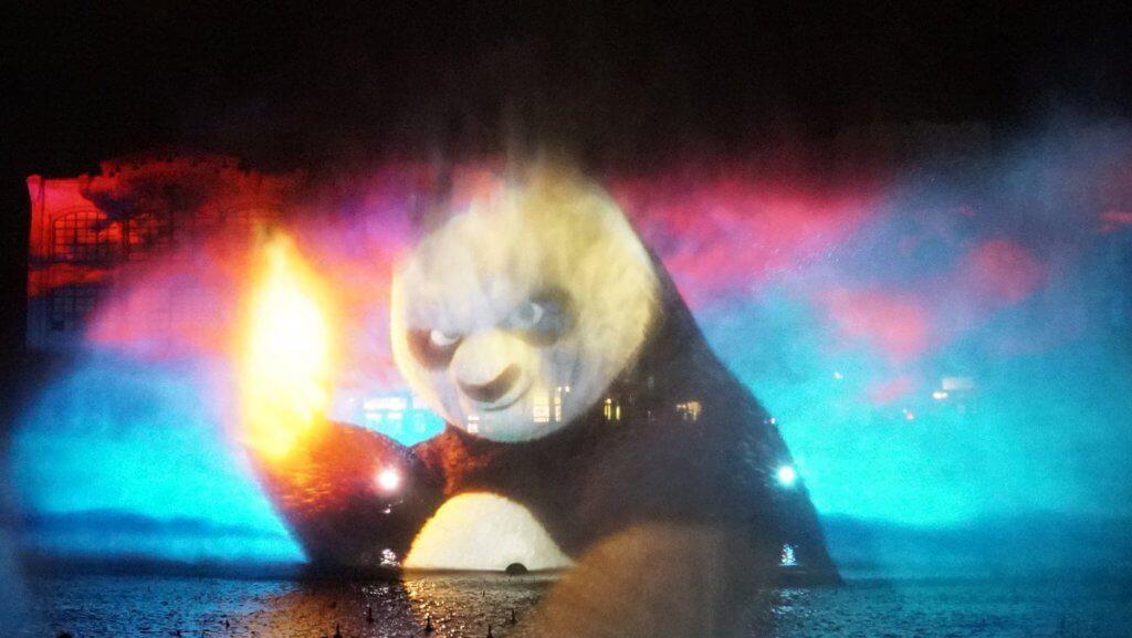 Novo show noturno da Universal: Cinematic Celebration - Kung Fu Panda