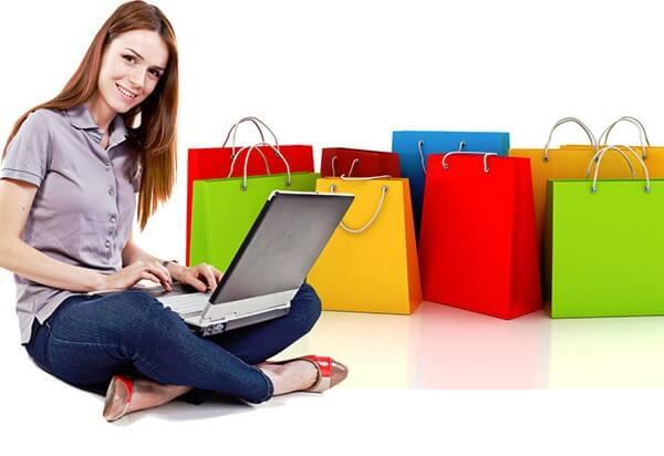 Compras online pela internet em Miami e Orlando