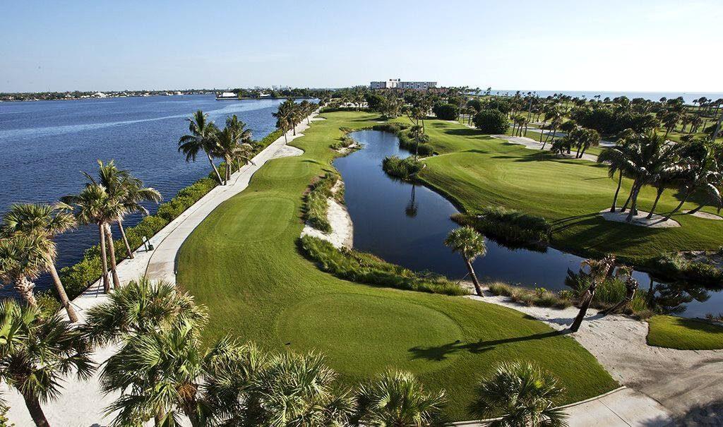 Jogar golfe em Palm Beach