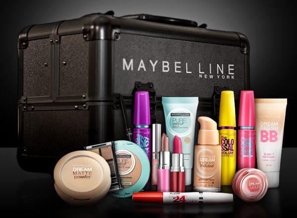 Onde comprar maquiagens Maybelline em Orlando e Miami
