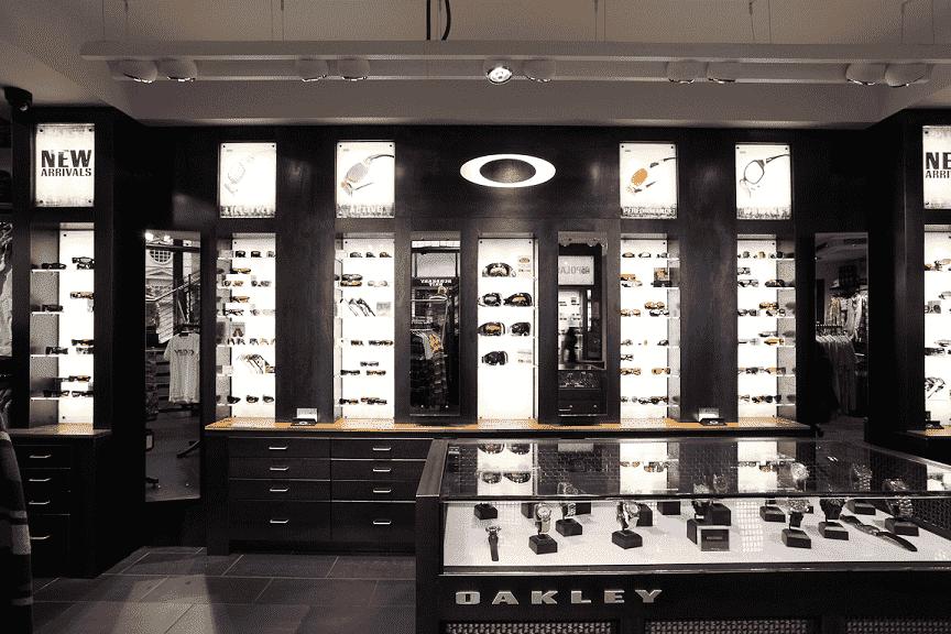 Lojas Oakley em Orlando e Miami