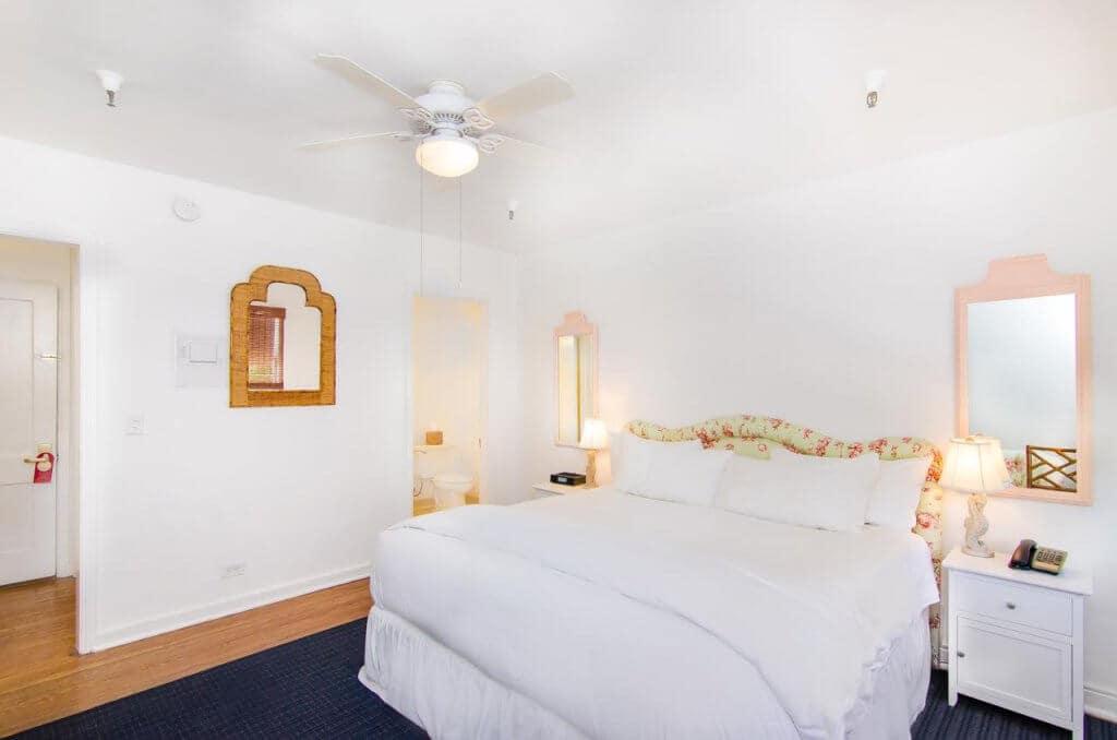 Dicas de hotéis em Palm Beach na Flórida: Quarto do Palm Beach Historic Inn