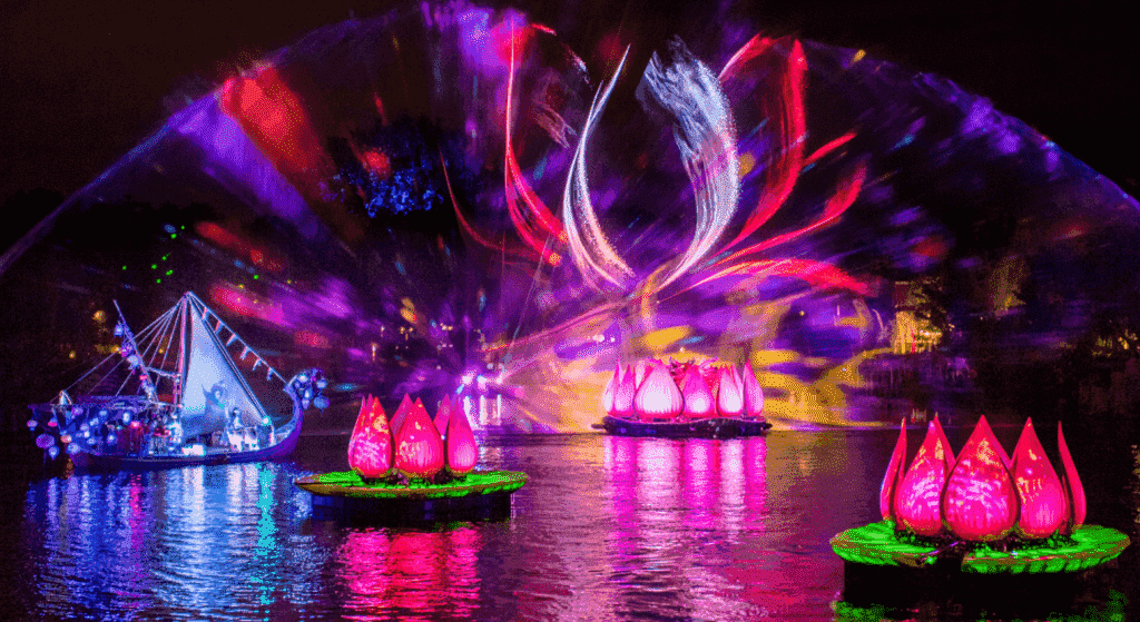 Show noturno Rivers of Light na Disney - Animal Kingdom