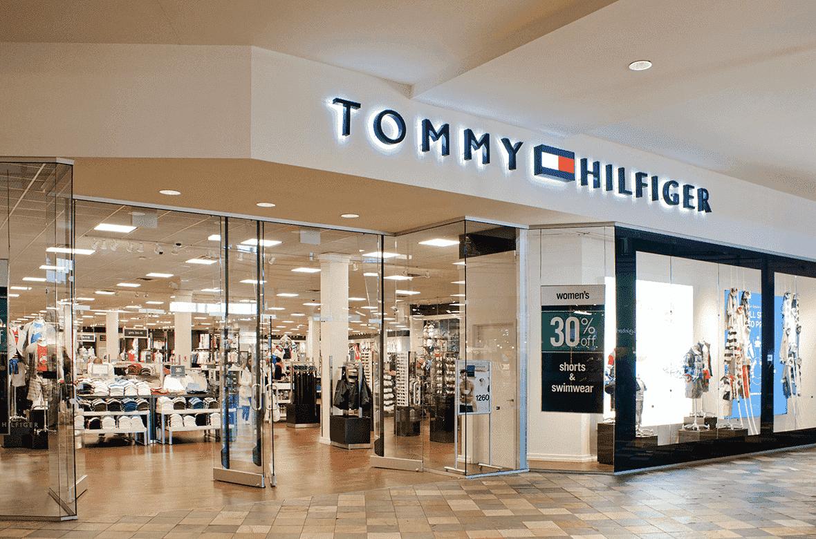 Lojas da Tommy Hilfiger em Miami e Orlando