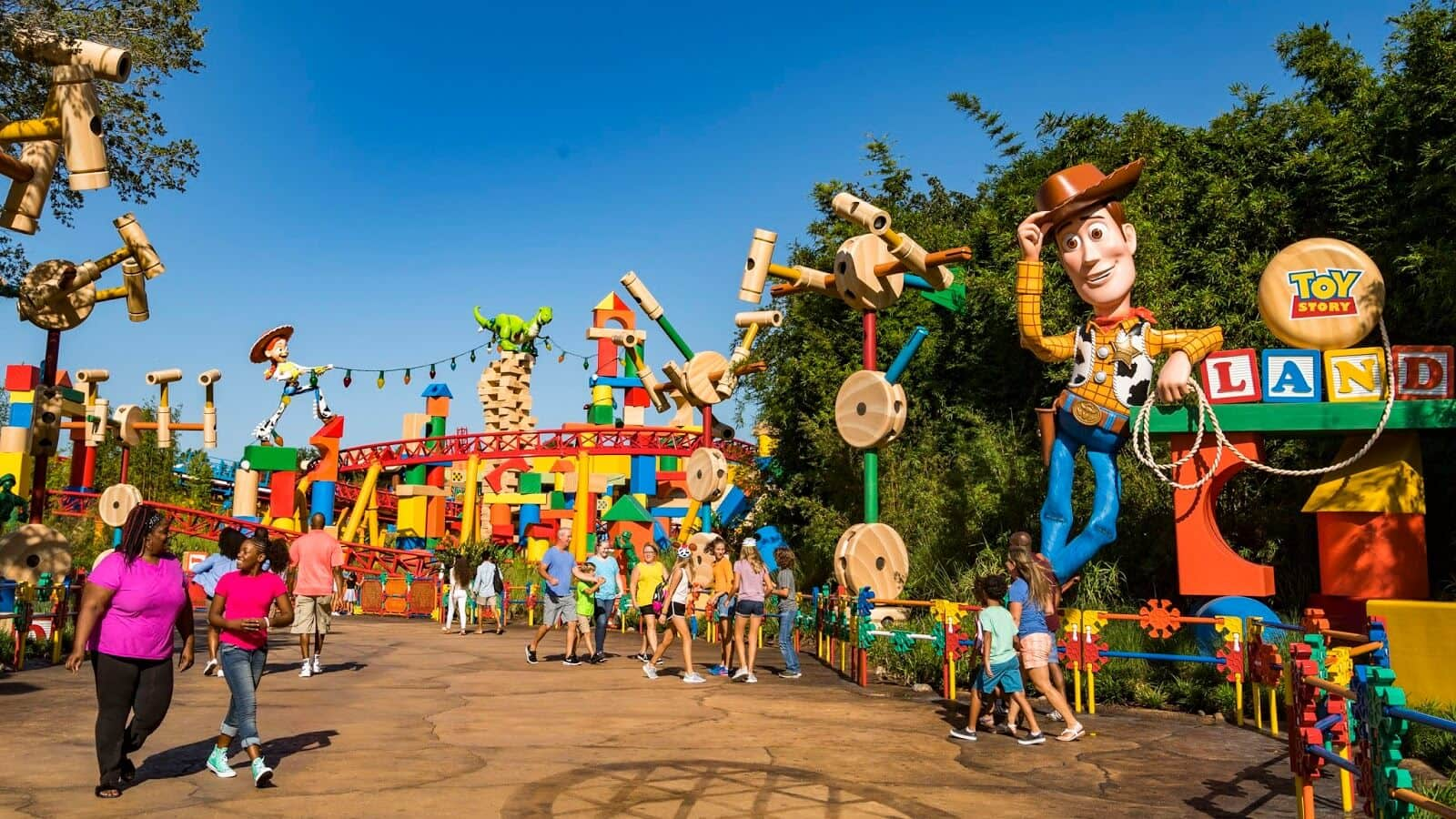 Área Toy Story Land