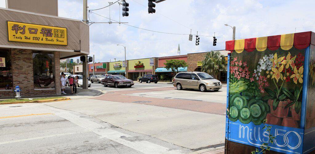 Bairro Vietnamita em Downtown Orlando