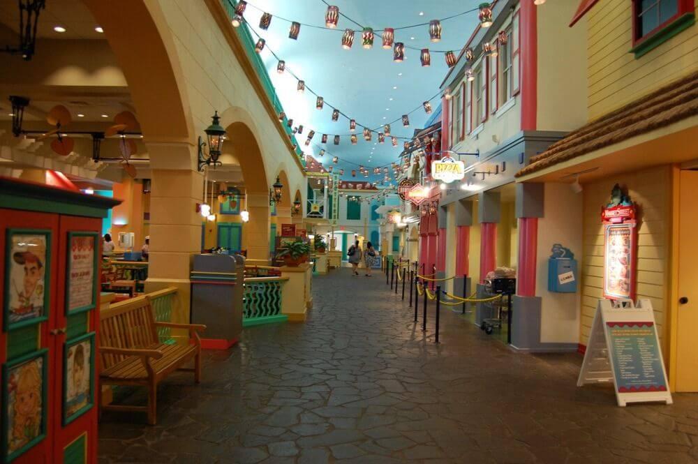 Disney's Caribbean Beach Resort em Orlando: Áreas de lazer do hotel
