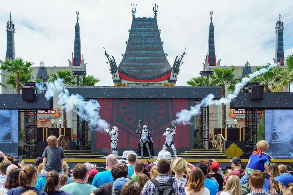 Shows do Star Wars no Hollywood Studios: Star Wars: A Galaxy Far, Far Away