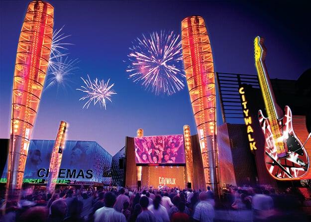 Ano-novo na Universal em Orlando