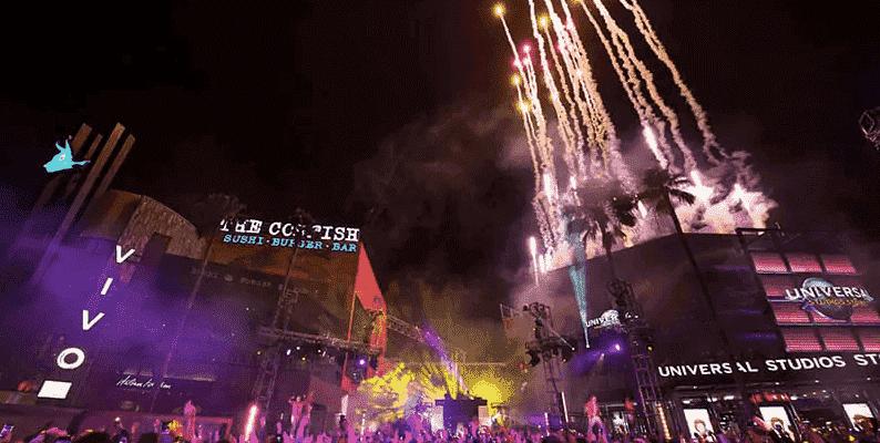 Ano-Novo na Universal Studios em Orlando