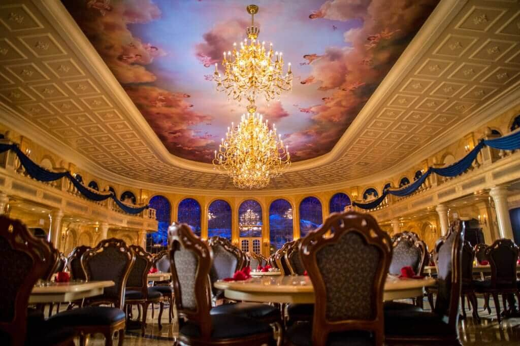 Restaurante da Disney Be Our Guest