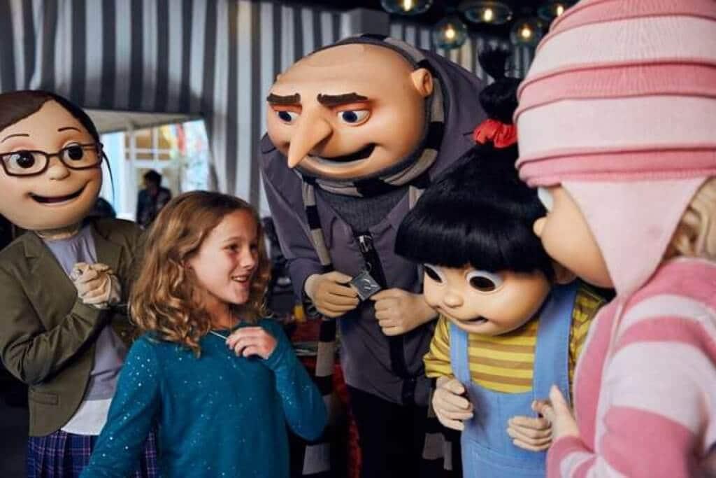 Gru e suas filhas: Café da manhã na Universal Orlando