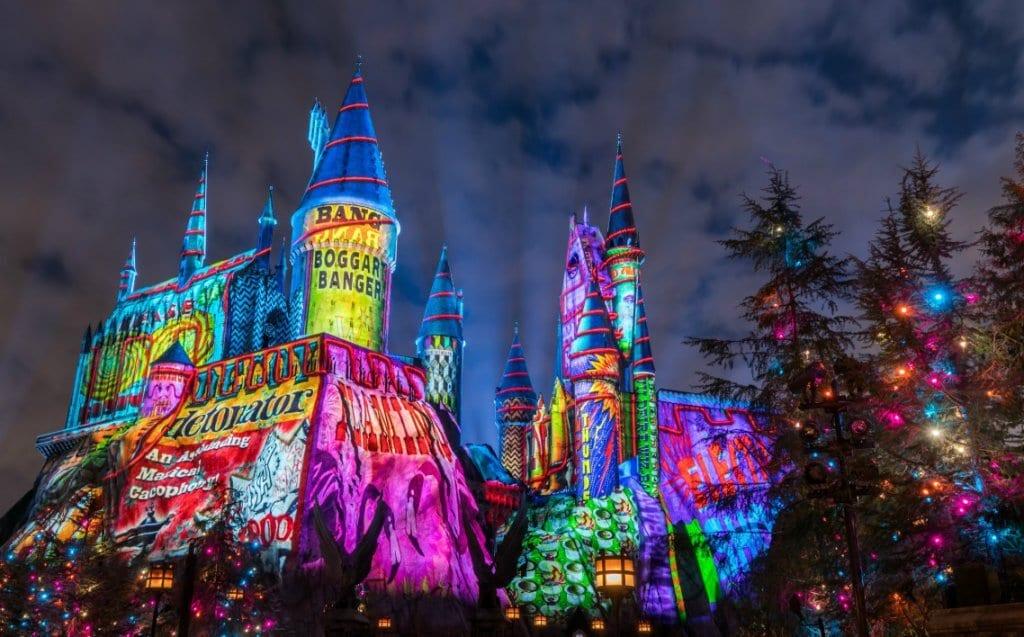 Natal do Harry Potter na Universal