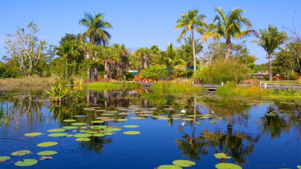 Jardim Botânico de Naples (Naples Botanical Garden)