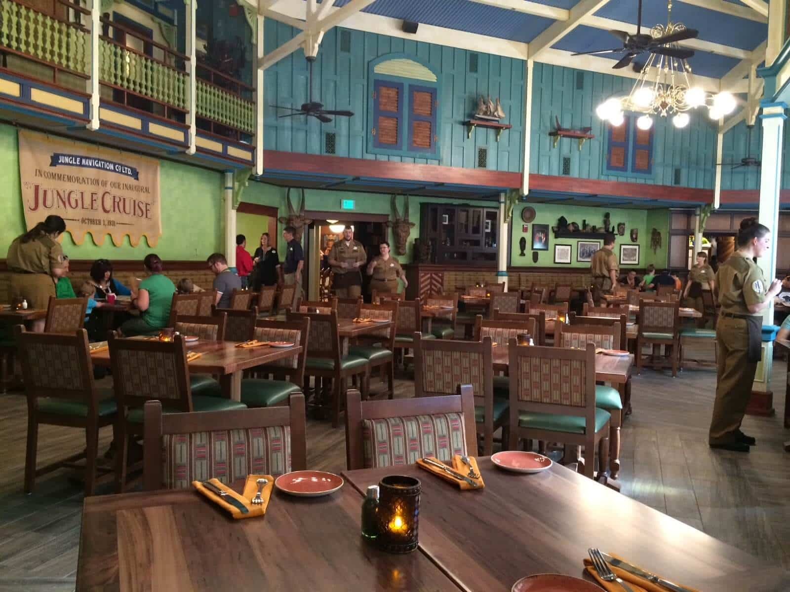 Restaurante Jungle Skipper Canteen no Magic Kingdom