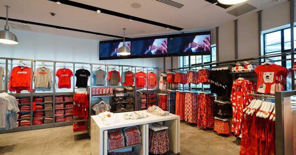 Melhores lojas de Disney Springs: Loja Coca-Cola Store