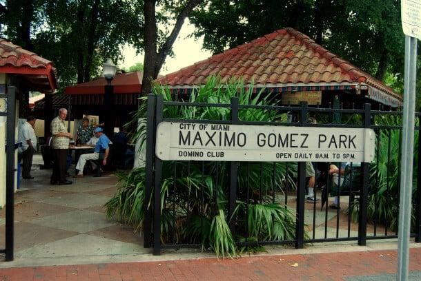 Passeio latino pela Calle Ocho em Miami: Parque Maximo Gomez