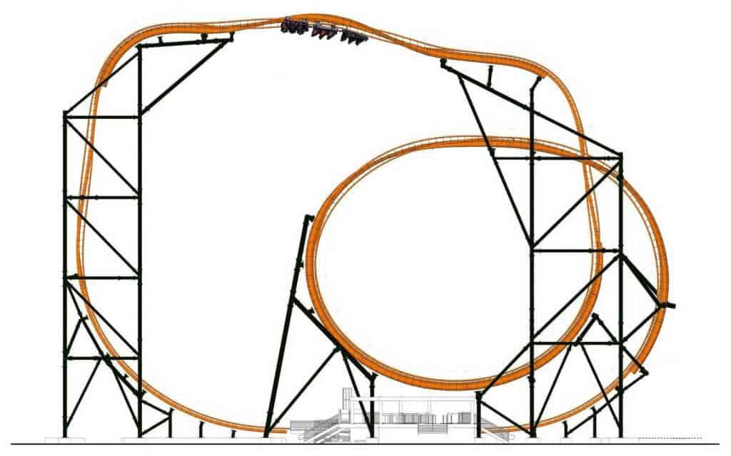 Esqueleto da Tigris: a nova montanha-russa do Busch Gardens em Orlando