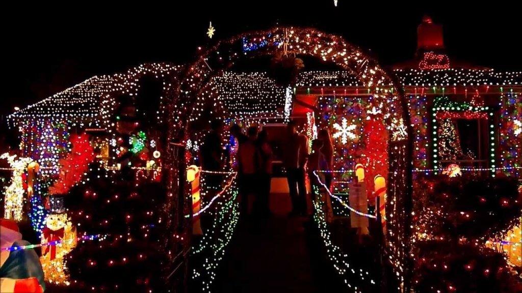 Atrações de natal em Winter Park e Winter Garden