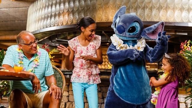 Restaurante Ohana na Disney