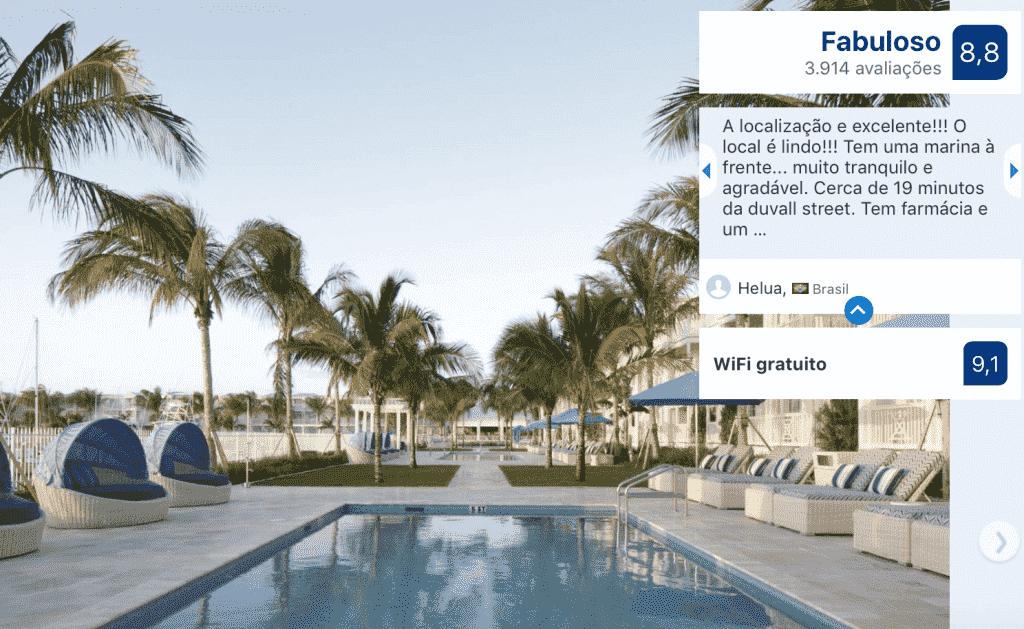 Melhores hotéis em Key West: Piscina do Oceans Edge Key West
