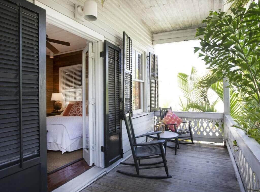 Melhores hotéis em Key West: Varanda do quarto do Simonton Court Historic Inn & Cottages