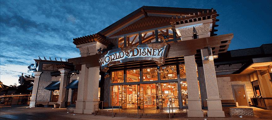Melhores lojas da Disney para comprar lembrancinhas: World of Disney em Orlando