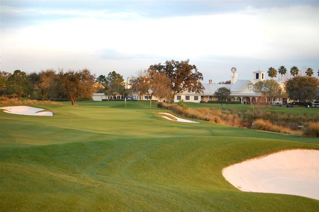 4 campos de golfe para conhecer em Orlando: Celebration Golf Club em Orlando