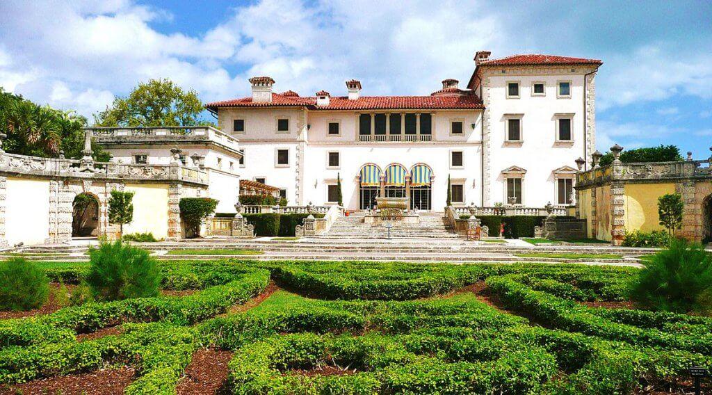 5 lugares históricos e monumentos em Miami: Villa Vizcaya Museum and Gardens