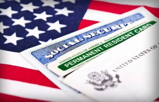 Green Card - documento para morar nos EUA