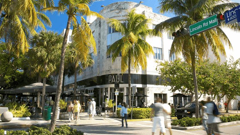 10 bons lugares para fazer compras em Miami e Key Biscane: Compras em lojas de rua em Miami
