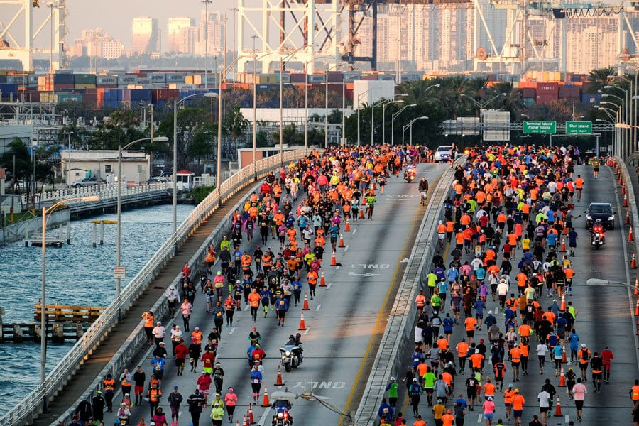 Calendário 2019 de corridas e maratonas em Miami