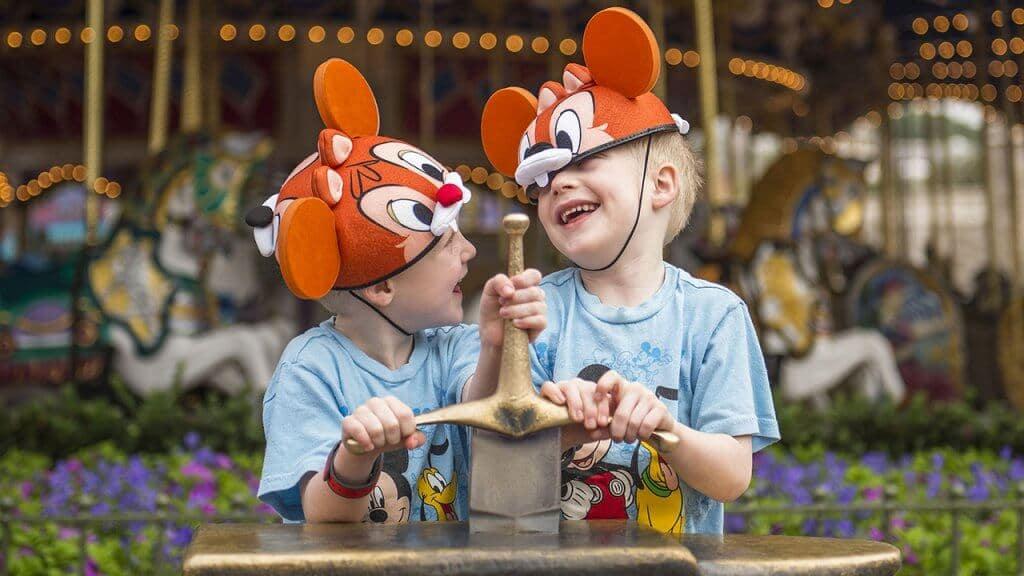 Crianças na Disney Orlando