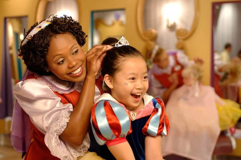 Vale a pena viajar para Orlando com crianças muito pequenas: Bibbiddi Bobbidi Boutique - Criança na Disney Orlando