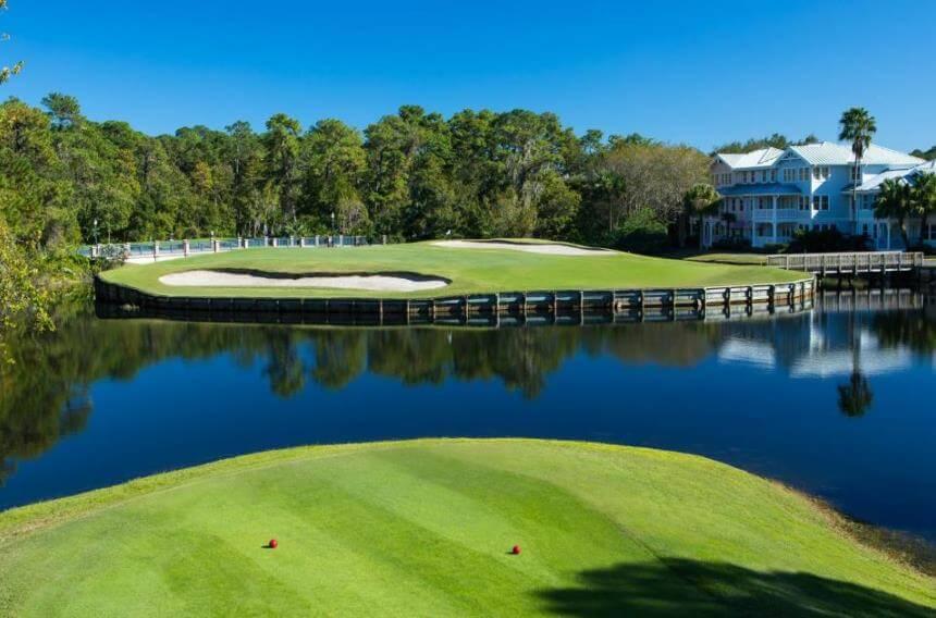 4 campos de golfe para conhecer em Orlando: Disney's Lake Buena Vista em Orlando