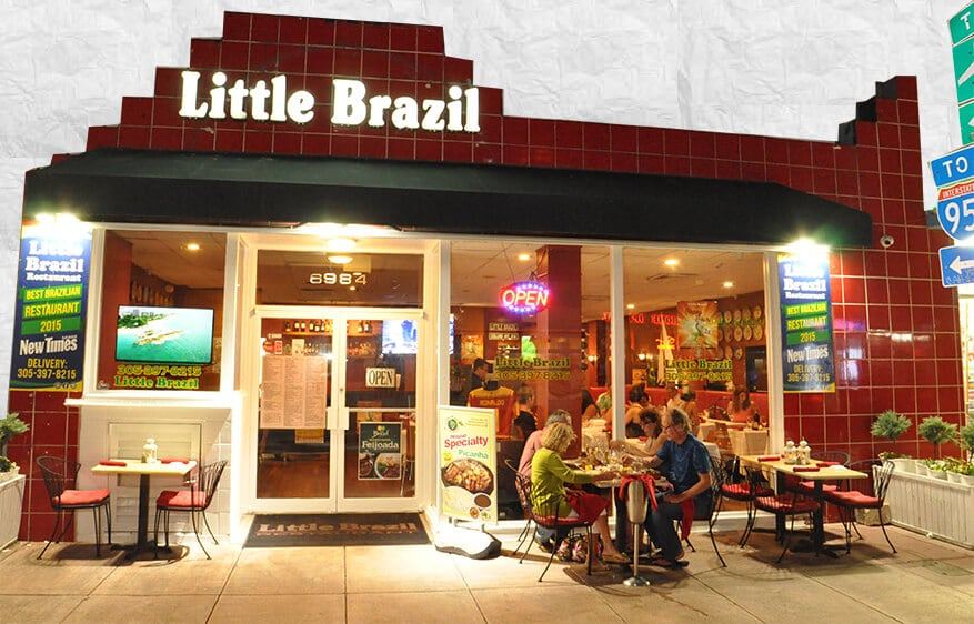 Restaurante Little Brazil em Miami Beach: Entrada do Little Brazil