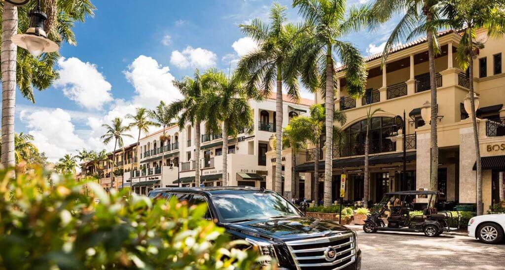 Opções de bate-volta saindo de Miami: Naples